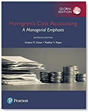 Horngren\'s Cost Accounting: A Managerial Emphasis, Global Edition