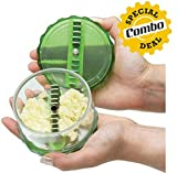 GKP Products Combo of -2 1x Garlic Chopper - Best Reviews Guide