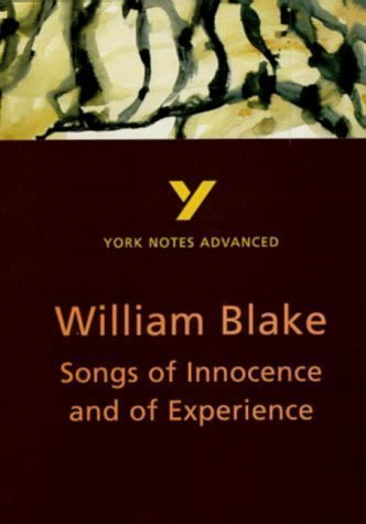 """York Notes Advanced on """"Songs of Innocence and of Experience"""" by William Blake (York Notes Advanced S.) 2nd (second) Edition by Punter, David published by Longman (1998)"""