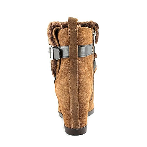 Marc Fisher Trevis Rund Wildleder Mode-Stiefeletten Brown Multi