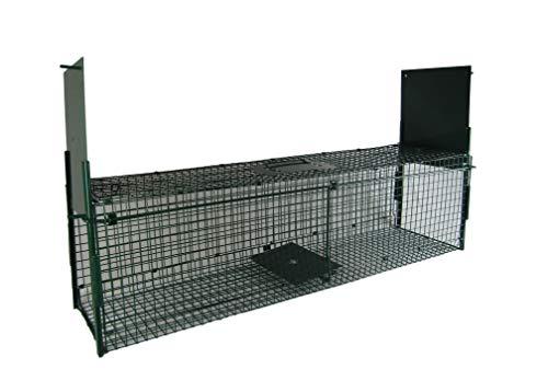 *Maxx – Lebendfalle Rattenfalle – Maderfalle Falle Kastenfalle lebend Käfigfalle Tierfalle Mausefalle – für Maus, Ratte, Nagetiere – 117x30x34cm*