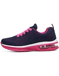 tqgold Unisex Herren Damen Sneakers Bequeme Laufschuhe Schnürer Air  Profilsohle Sportschuhe Turnschuhe 4e5fe27473