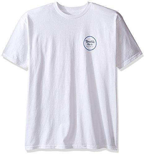 Brixton Wheeler Standard T-Shirt Weiß