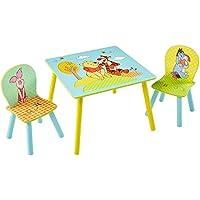 Preisvergleich für TW24 Disney Kindersitzgruppe - Kindertisch - Kinderstuhl - Sitzgruppe Kinder - Winnie The Pooh