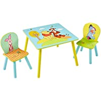 TW24 Disney Kindersitzgruppe - Kindertisch - Kinderstuhl - Sitzgruppe Kinder - Winnie The Pooh preisvergleich bei kinderzimmerdekopreise.eu