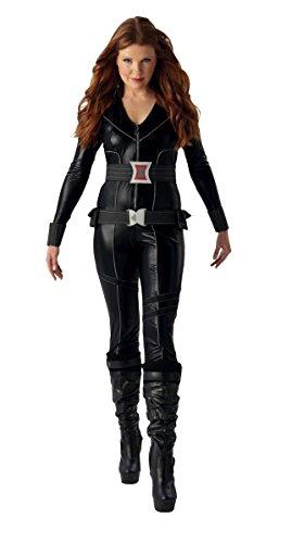 Witwen-Kostüm für Damen S (Marvel Black Widow Kostüm Großbritannien)