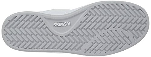 K-Swiss Clean Court Cmf, Sneakers Basses Femme Blanc (White/White/Silver 133)