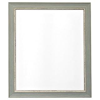 Frames By Post  24 x 20 Zoll Nordic Bild-/Fotorahmen im Antique-Look mit Plastikscheibe, blau