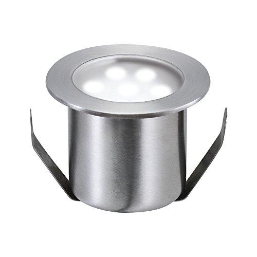 Paulmann 988.68 Special Line Mini Bodeneinbauleuchte Basisset erweiterbar IP65 Tageslichtweiß 4x0,6W 98868 Terrassenbeleuchtung Gartenleuchte Bodenleuchte -