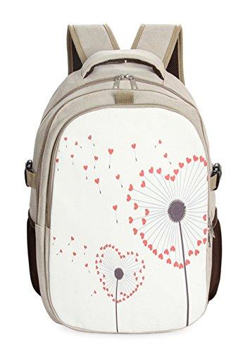 Keshi Leinwand neuer Stil Damen accessories hohe Qualität Einfache Tasche Schultertasche Freizeitrucksack Tasche Rucksäcke Mehrfarbig 1