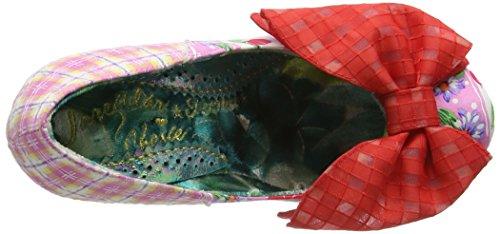 Irregular Choice - Bowtina, Scarpe col tacco Donna Rosa (Pink (Pink Floral))