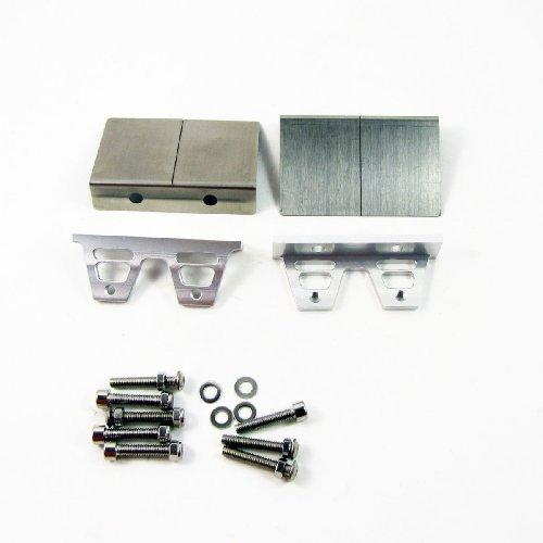 """New Trim Tab 76mm X 49mm Set 2pcs für 1m 30 """"oder größer Benzin Gas rc Boot GIFT"""