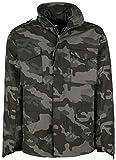Brandit, M65 Field Jacket per Uomo Classic, Darkcamo 4XL