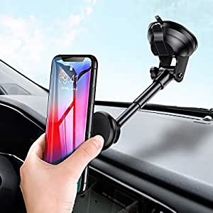 support voiture magn tique support t l phone voiture universel avec bras extensible pour iphone. Black Bedroom Furniture Sets. Home Design Ideas