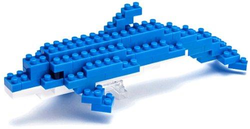 Imagen 2 de Nanoblock: Mini Water Lovers: Bottlenose Dolphin