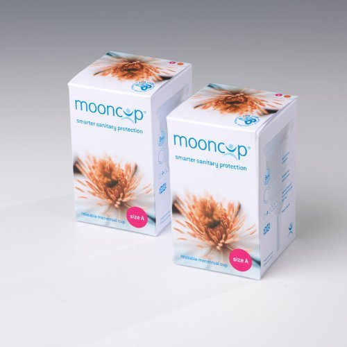 MOONCUP Reusable Menstrual Cup Size A - Pack of 2 - Save ?.00 by Mooncup