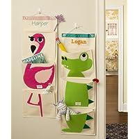 Preisvergleich für personalisierbar 3Sprouts Krokodil grün Mauer, Organzier. Große Geschenk für Kinder.