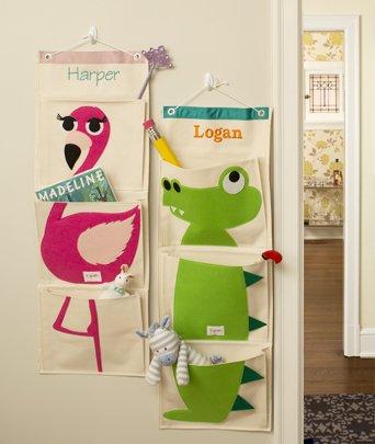 Preisvergleich Produktbild personalisierbar 3 Sprouts Krokodil grün Mauer,  Organzier. Große Geschenk für Kinder.