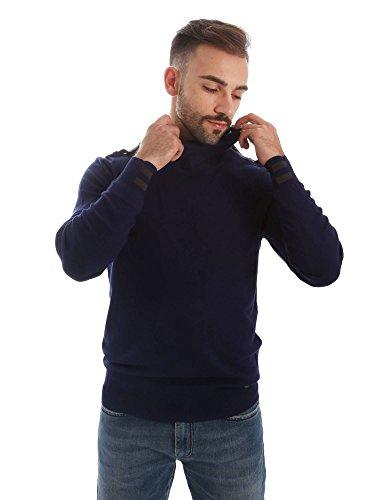 Gaudi jeans 62BU56018 Maglia a collo alto Uomo Blu M