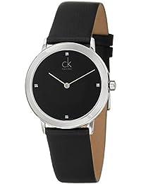 Calvin Klein Calvin Klein Minimal K0351102 - Reloj para hombres, correa de  cuero color negro 8578d1f13d