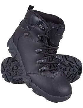 Mountain Warehouse Canyon La barranca embroma los cargadores impermeables - zapatos que caminan de los niños de...