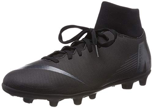 Nike Superfly 6 Club MG, Scarpe da Fitness Unisex-Adulto, Nero Black 001, 45 EU