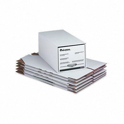 Cassettiera universale, file, Letter Fiberboard/4 x, 24-1 368-1/2/4-ca., colore: bianco, 6/Ctn by (1 File Cassettiera)