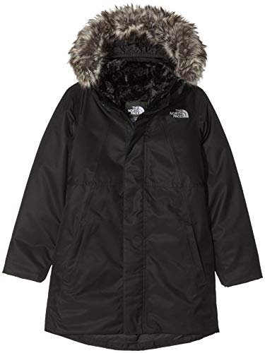 THE NORTH FACE Mädchen Arctic Swirl Daunenjacke, TNF Black, L (The North Face Mädchen Jacken)