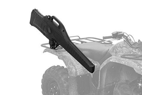 Black Boar ATV Gun Holder Case with Integrated Carry-Handle and Affixed Soft-Sided Inner Liner, Stores and Protects Most Rifles, Mounting Hardware Included