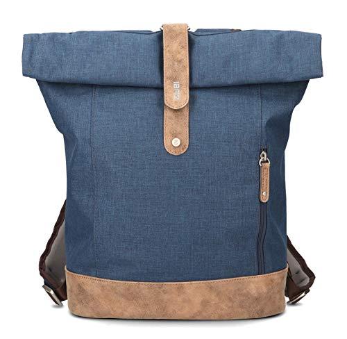 zwei Olli 24 Rucksack 37/50 cm Blue