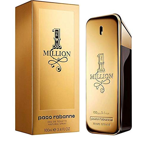 Einzigartige Herren Kostüm - Paco Rabanne One Million Herren, Eau de Toilette, Vaporisateur / Spray 100 ml, 1er Pack (1 x 100 ml)