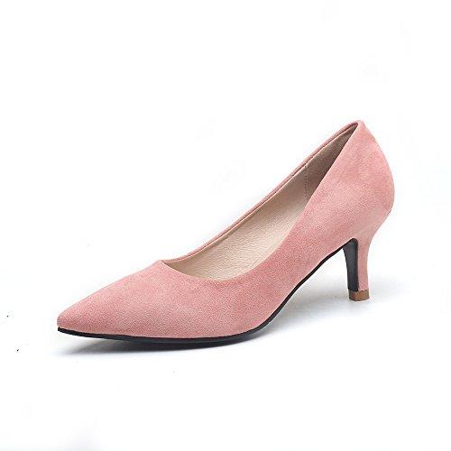 Bbdsj Donne Tacchi Alti 5cm Tacchi A Punta Camoscio Tacchi Alti Scarpe Da Donna Professionali.più colori. D