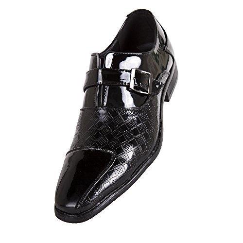 Robelli Herren Smart Hochzeit / Works Kunstlackleder Schuhe A03