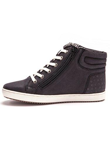 Balsamik - Sneakers zippés, compensés, grande largeur - femme Noir