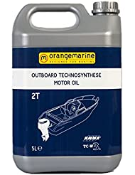ORANGEMARINE Huile 2 temps technosynthése moteurs hors-bord