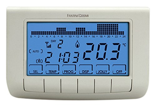 Thermostat programmable achat vente de thermostat pas cher for Fantini cosmi intellitherm c57