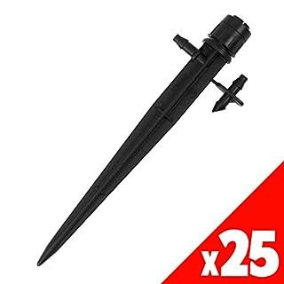 Antelco 32095 360 Degree Vortex Spectrum Spike - Black (Pack of 25)