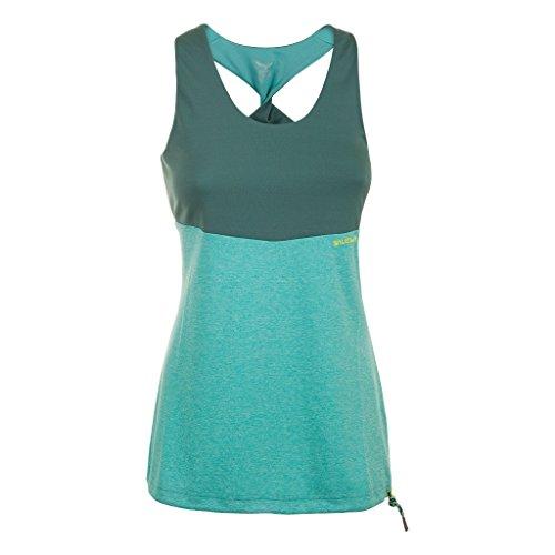 SALEWA Damen Bluse Foxy Lady Dry W Tank, Bright Aqua, 40/L, 00-0000024638