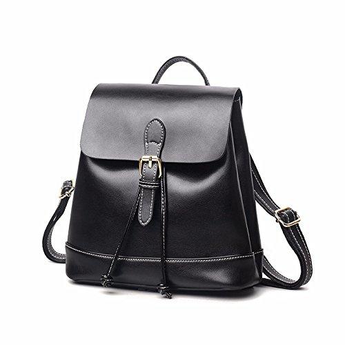 die neue umhängetasche mode - ledertasche mit leder,schwarz. schwarz.
