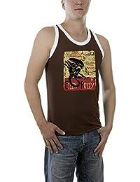 Touchlines Herren T-Shirt Ellen Ripley Aliens Kontrast