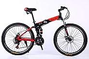 vlra bike 26 inch24 speed land rover mountain bike suspension folding bicycles