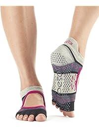 TToeSox agarre media punta calcetines Bellarina, calcetines de baile y se puede utilizar para barras