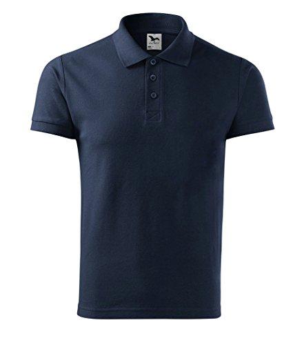 Dress-O-Mat Herren Poloshirt Shirt Polohemd Marine Blau