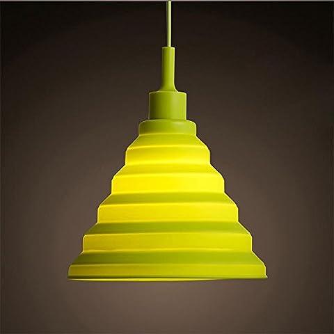 KHSKX Moderne linee minimaliste lampadario di colorata