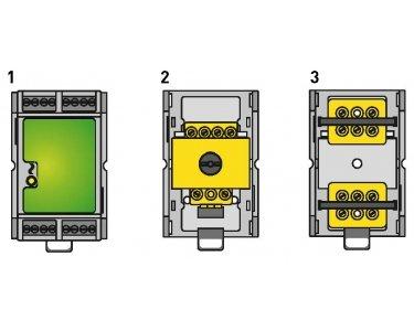 Preisvergleich Produktbild digitalSTROM Befestigungsclip Hutschiene,  5 Stück,  dS-DinClip200
