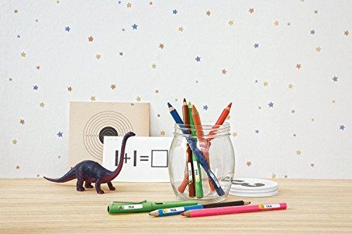 Avery Zweckform 62039 Living - Etiquetas para bolígrafos (31 x 6 mm), color blanco