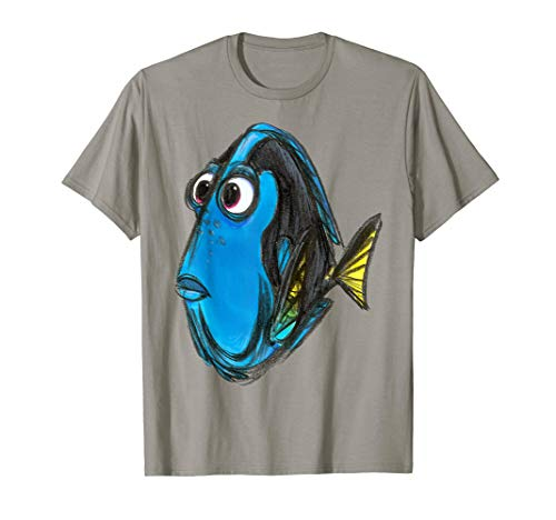 Disney Pixar Finding Nemo Dory Color Book Graphic T-Shirt