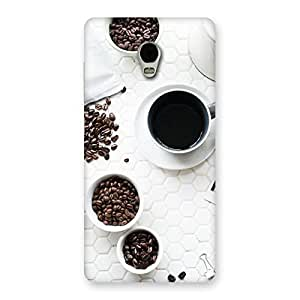 Neo World Beans And Coffee Back Case Cover for Lenovo Vibe P1