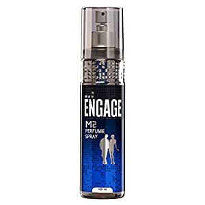 Engage M2 Perfume Spray For Men, Citrus and Lavender, Skin Friendly, 120ml