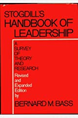 Handbook of Leadership: A Survey of Theory and Research Hardcover